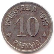 10 Pfennig (Siegen) [Stadt, Westfalen] – reverse