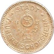 10 Pfennig (Tauberbischofsheim) [Stadt, Baden] – obverse