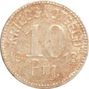 10 Pfennig (Tauberbischofsheim) [Stadt, Baden] – reverse
