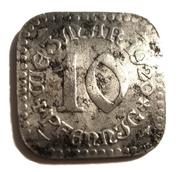 10 Pfennig (Weimar) [Stadt, Sachsen-Weimar-Eisenach] – obverse