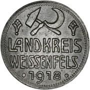 10 Pfennig (Weißenfels) [Landkreis, Provinz Sachsen] – obverse