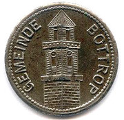 50 Pfennig (Bottrop) [Gemeinde, Westfalen] – obverse