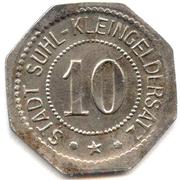 10 Pfennig (Suhl) [Stadt, Thüringen] – obverse