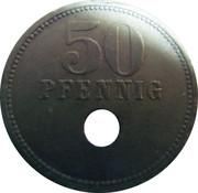 50 Pfennig (Osterburg) [Kreis, Sachsen] – reverse