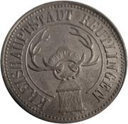 50 Pfennig (Reutlingen) [Kreishauptstadt, Württemberg] – obverse
