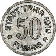 50 Pfennig (Trier) [Stadt, Rheinprovinz] – obverse