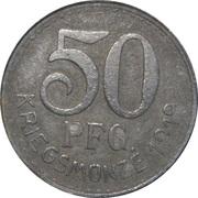 50 Pfennig (Neckarsulm) [Stadtgemeinde, Württemberg] – reverse