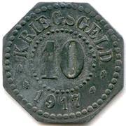 10 Pfennig (Hamm) [Stadt, Westfalen] -  reverse