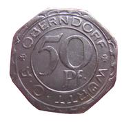 50 Pfennig (Oberndorf) [Oberamt, Wüttemberg] – obverse