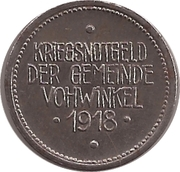 50 Pfennig (Vohwinkel) [Gemeinde, Rheinprovinz] – obverse
