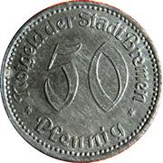 50 Pfennig (Bremen) [Stadt, Freie Stadt] -  obverse