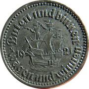 50 Pfennig (Bremen) [Stadt, Freie Stadt] – reverse