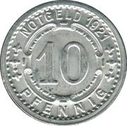 10 Pfennig (Lippstadt) [Kreis, Westfalen] -  reverse