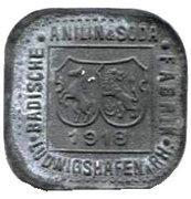 1 Pfennig (Ludwigshafen am Rhein) [Private, BASF] – obverse