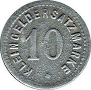 10 Pfennig (Zabern) [Stadt, Elsass] – reverse