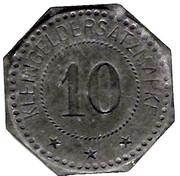 10 Pfennig (Schlettstadt) [Stadt, Elsaß] -  obverse