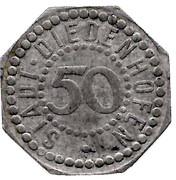 50 Pfennig (Diedenhofen) [Stadt, Lothringen] – obverse