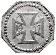 50 Pfennig (Diedenhofen) [Stadt, Lothringen] – reverse