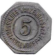 5 Pfennig (Busendorf) [Private, Lothringen, Lothringer Walzengiesserei] – obverse