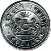 5 Pfennig (Colmar) [Private, Elsaß-Lothringen, Bäcker Innung] -  obverse
