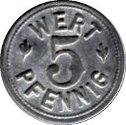 5 Pfennig (Colmar) [Private, Elsaß-Lothringen, Bäcker Innung] – reverse
