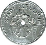 10 Pfennig (Adelsheim) [Stadt, Baden] – obverse