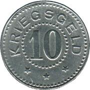 10 Pfennig (Zell im Wiesental) [Stadt, Baden] – reverse