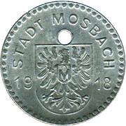 10 Pfennig (Mosbach) [Stadt, Baden] – obverse