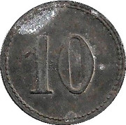 10 Pfennig (Mosbach) [Stadt, Baden] – reverse