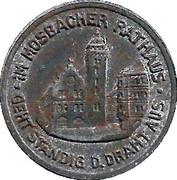 25 Pfennig (Mosbach) [Stadt, Baden] – obverse