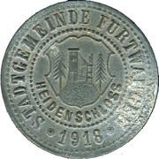 50 Pfennig (Furtwangen) [Stadt, Baden] – obverse