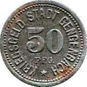 50 Pfennig (Gengenbach) [Stadt, Baden] – obverse