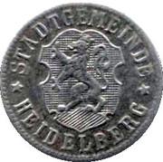50 Pfennige (Heidelberg) [Stadt, Baden] – obverse