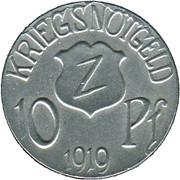 10 Pfennig (Wolfach) [Amtsbezirk, Baden] – reverse