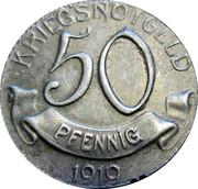 50 Pfennig (Wolfach) [Amtsbezirk, Baden] – reverse