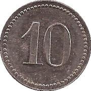 10 Pfennig (Emmendingen) [Private, Baden, Spinnerei Ramie] – reverse