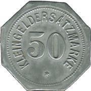 50 Pfennig (Regensburg) [Stadt, Bayern] – reverse