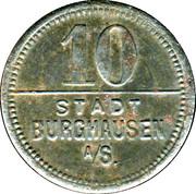 10 Pfennig (Burghausen an der Salzach) [Stadt, Bayern] – obverse