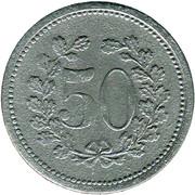 50 Pfennig (Zirndorf) [Stadt, Bayern] – reverse