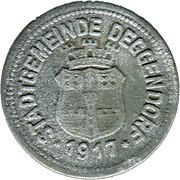 50 Pfennig (Deggendorf) [Stadt, Bayern] – obverse