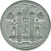 10 Pfennig (Hof) [Stadt, Bayern] – obverse