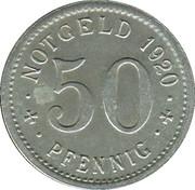50 Pfennig (Treuchtlingen) [Stadt, Bayern] – reverse