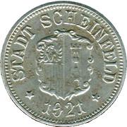 50 Pfennig (Scheinfeld) [Stadt, Bayern] – obverse