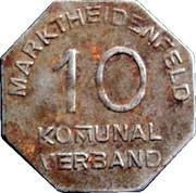 10 Pfennig (Marktheidenfeld) [Kommunalverband, Bayern] – obverse