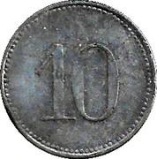 10 Pfennig (Wemding) [Stadt, Bayern] – reverse