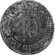 10 Pfennig (Wolnzach) [Markt, Bayern] – reverse