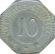 10 Pfennig (Zwiesel) [Stadt, Bayern] – reverse