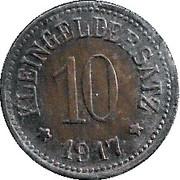 10 Pfennig (Uffenheim) [Stadt, Bayern] – reverse