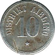 10 Pfennig (Aibling) [Distrikt, Bayern] – obverse
