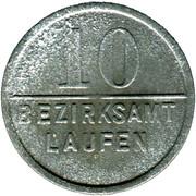 10 Pfennig  (Laufen) [Bezirksamt, Bayern] – obverse
